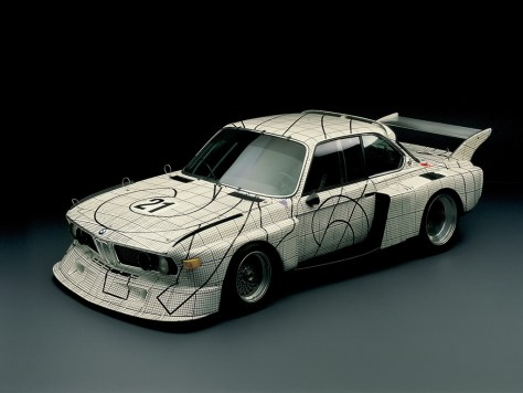 BMW art car - 1976 Frank Stella