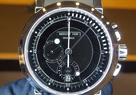 Breguet Marine Chronograph 200 ans de Marine esfera 1