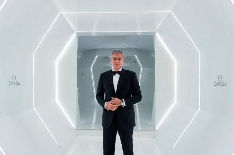 George Clooney en el evento OMEGA
