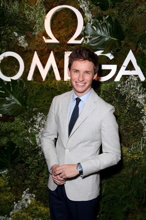 LONDON, ENGLAND - JUNE 04: Actor Eddie Redmayne attends the OMEGA VIP dinner in honour of new international ambassador Eddie Redmayne at Quaglino's on June 4, 2015 in London, England. (Photo by Mike Marsland/WireImage for OMEGA) *** Local Caption *** Eddie Redmayne