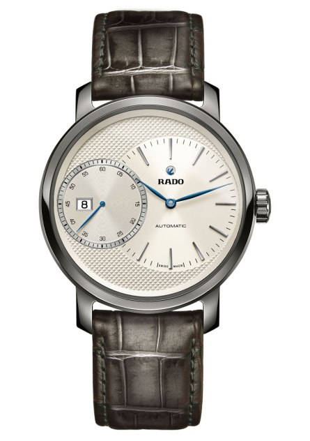 Rado DiaMaster Grande Seconde esfera clous de paris
