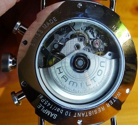 Hamilton Khaki Navy Pioneer Chrono calibre H 31