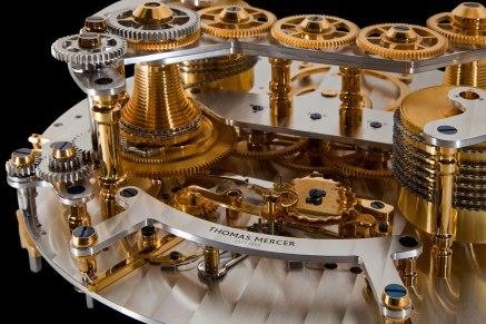 Thomas Mercer Observatory detalle del huso y cadena