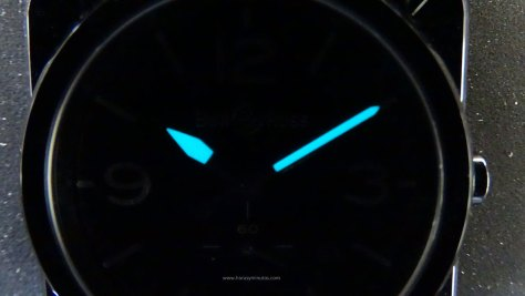 Bell Ross BR S Black Ceramic SuperLuminova