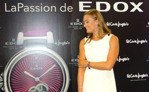 Edox LaPassion Mireia Belmonte con el nuevo reloj 1