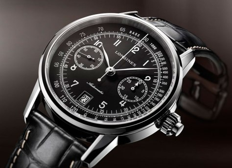 Longines Column-Wheel Single Push-Piece Chronograph ambiente