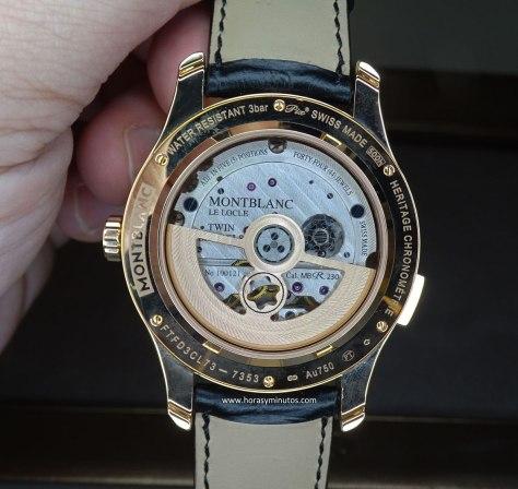 Montblanc Heritage Chronométrie ExoTourbillon Minute Chronograph calibre