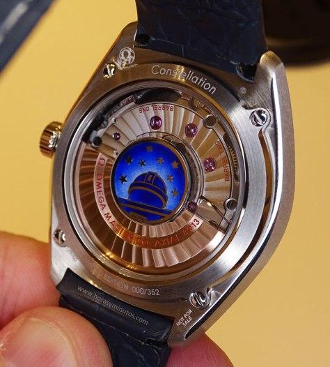 OMEGA Globemaster Master Chronometer platino reverso