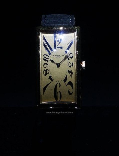 Tissot reloj banana 1916