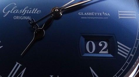 Glashütte Original Senator Panorama Date Moon Phase - fecha