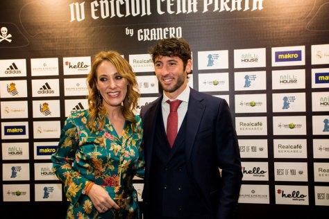 Karine Janson, Brand Manager de Baume & Mercier y Esteban Granero