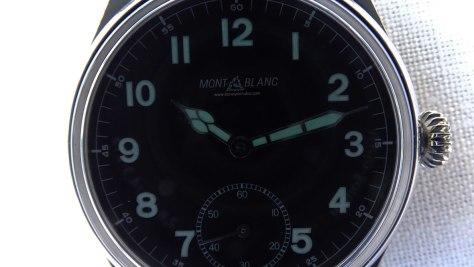 Montblanc 1858 Small Second SuperLuminova