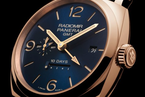 Panerai-blue-dial-Radiomir-1940-10-Days-GMT-Automatic-Oro-Rosso-Horasyminutos