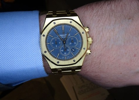 SIHH-2016-Audemars-Piguet-Royal-Oak-Chronograph-Yellow-Gold-Horas-y-Minutos