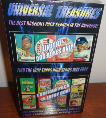 1952 Mickey Mantle Chase Box