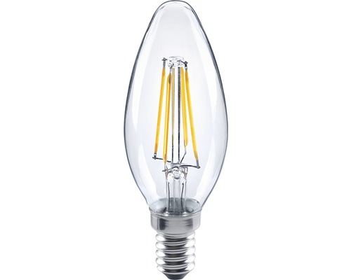 Led Leuchtmittel E14 Flair Led Kerzenlampe Filament Klar E14/4w(34w) 350 Lm
