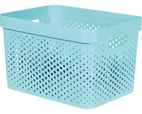 Curver Opbergbox Curver Opbergbox Infinity Perforatie Turquoise 35,6x26
