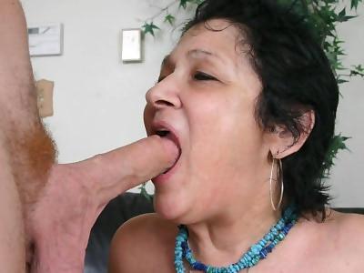 older women sucking huge balls
