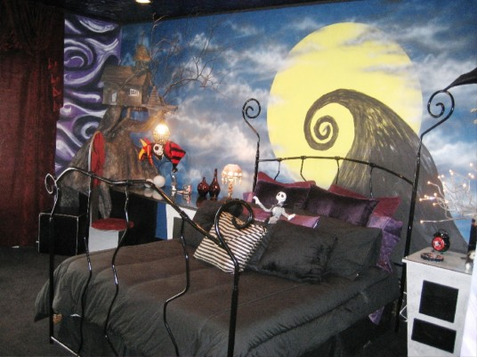 Home Decor Nightmare Before Christmas Bedroom « Horrific Finds - nightmare before christmas bedroom decor