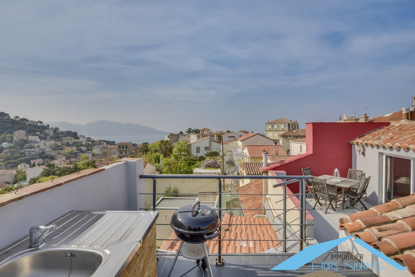 Prix Immobilier Var Three Room Top Floor Duplex Apartment Crossing With Terraces And