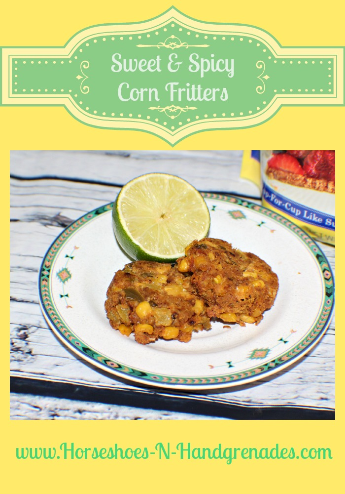 Sweet & Spicy Corn Fritters Recipe