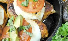 One Pan Caprese Chicken