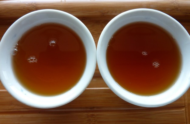 bulang peaks broth after five minutes steeping