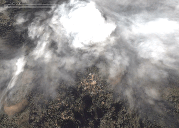 Google Earth image. Puxi Lao Zhai