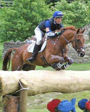 Last year's Bramham CIC 3-star winners Jonathan Paget and Clifton Lush.