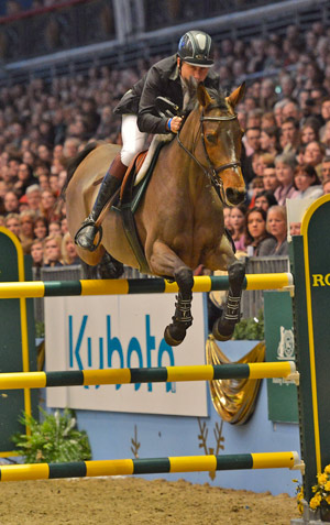 Peter Charles, Peter riding Murka's Odie de Frevent GBR