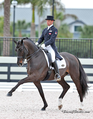 David Marcus and Chrevi's Capital won the Grand Prix and Grand Prix Freestyle at the CDI-W Wellington Dressage in Florida at the weekend.