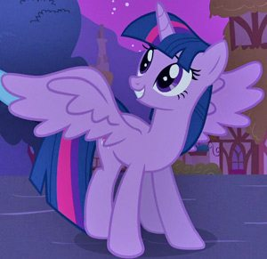 Twilight Sparkle is the most popular MLP character, according to the herd census.