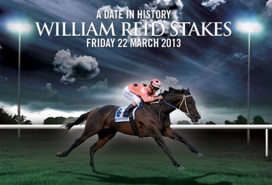 Promo for Black Caviar's latest race win, in the G1 William Reid Stakes on Friday night.