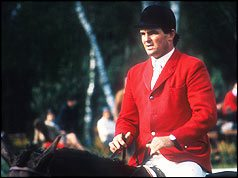 Harvey Smith in his showjumping days.