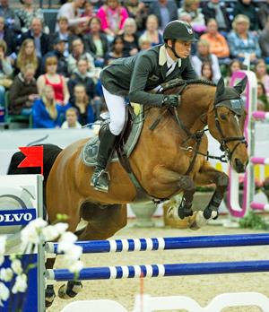 Nino de Byussonnets and Steve Guerdat.