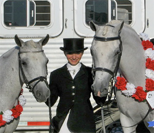 Mimi with PR Merrylegs and Cygnus