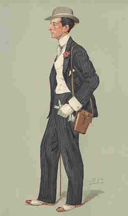 In keeping with local custom, trainer George Lambton would attend the British Classic races beautifully dressed, wearing a carnation in his buttonhole and carrying his binoculars. But Lambton's dapper appearance could not disguise the fact that he was respected by everyone in the British racing world, from King Edward VII down to the lads who exercised the famous Thoroughbreds in Lord Derby's stables.