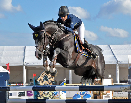 Malin Baryard-Johnsson and Baltimore jumped double-clear to help Sweden to victory at Sopot in Poland.