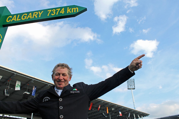 Calgary is the next stop for Nick Skelton on his Rolex Grand Slam journey.