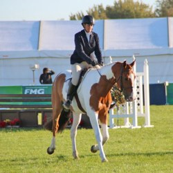 Kate Mullins in the equitation class
