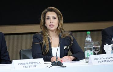 FEI President Princess Haya.  © Germain Arias-Schreiber/FEI