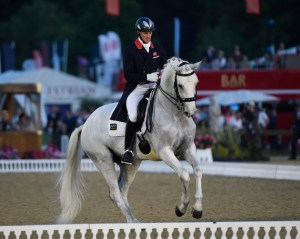 Michael Eilberg and Half Moon Delphi were second in the freestyle at Windsor.
