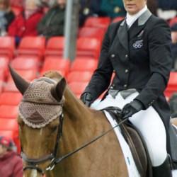 Caroline Powell (NZL) and Onwards and Upwards.