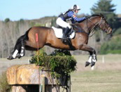Diane Gilder and Your Attorney on the CCI**  cross-country. © Kampic