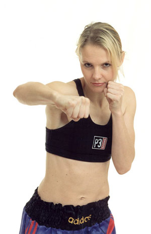 Sanna Neselius, specialist doctor and research student, former boxer, University of Gothenburg.