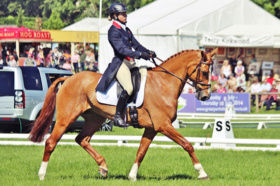 Izzy Taylor and Orlando put up a sub-30 score to take the lead in the CCI3* class at the Bramham International Horse Trials.
