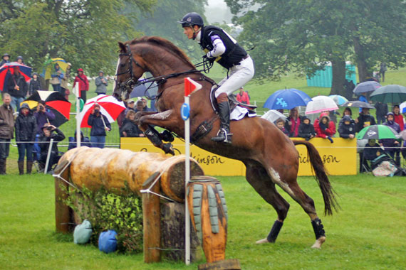 William Fox-Pitt and Chilli Morning were clear all the way to take out Bramham's CIC3*.