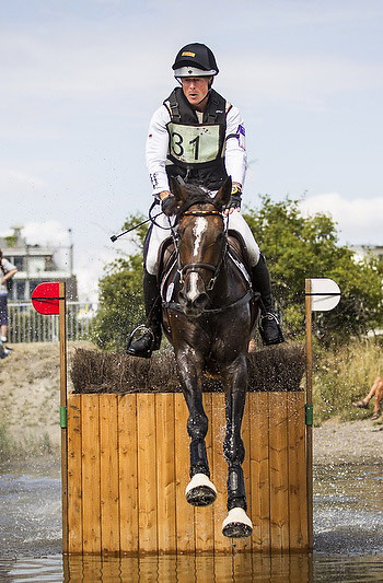 Peter Thomsen, Eventing team gold medalist at the 2008 and 2012 Olympic Games, rode Horseware's Cayenne to individual second behind his team mate Andreas Dibowski for a German victory at leg six of the FEI Nations Cup™ Eventing in the unique Swedish seaside venue at Malmö.