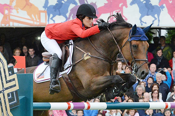 Jessica Springsteen and Vindicat W for the USA.