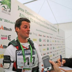 Francisco Seabra at the World Equestrian Games in France last year.